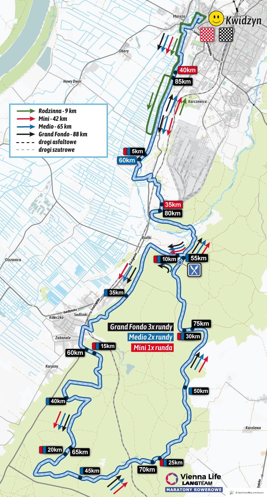 Kwidzyn 2018 Lang Team Maratony Rowerowe